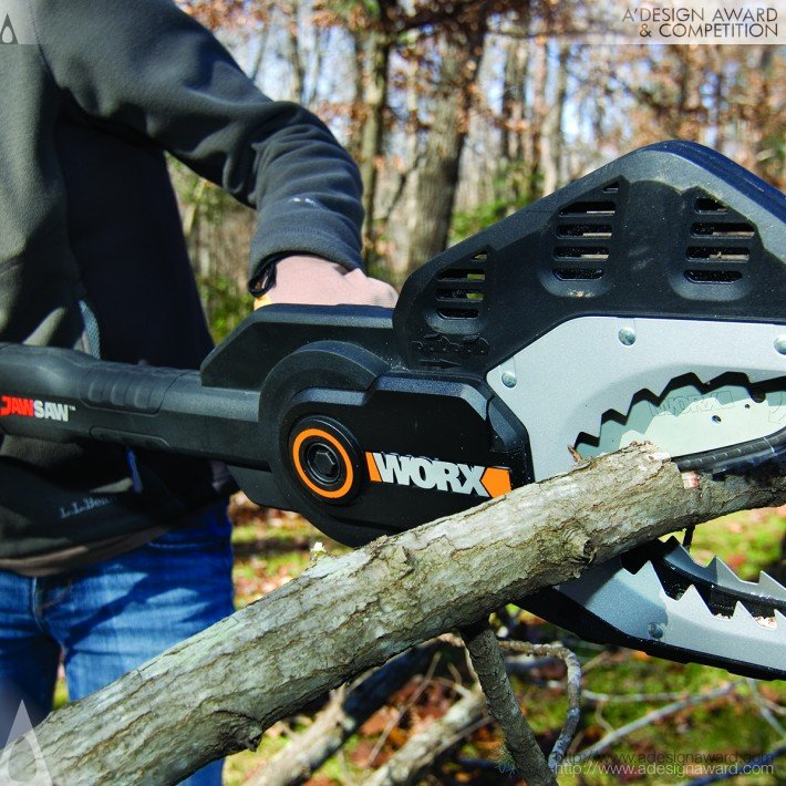 Jawsaw (Electric Chain Saw Design)