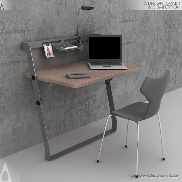 Octavo Home Office Desk by Süha SÜZEN