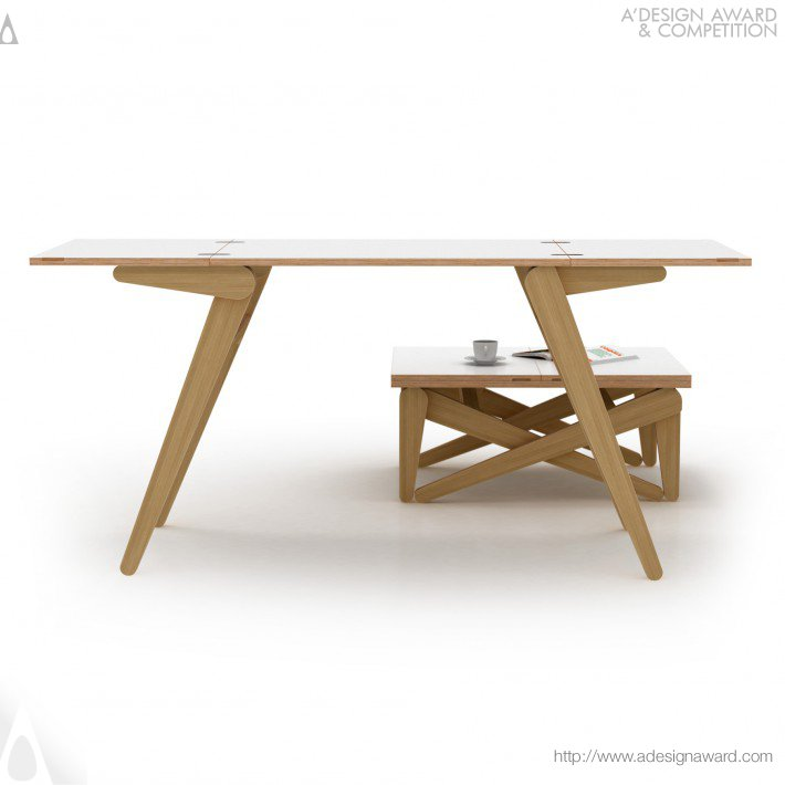 Alexander Sekirash - Kena Transforming Coffee Table