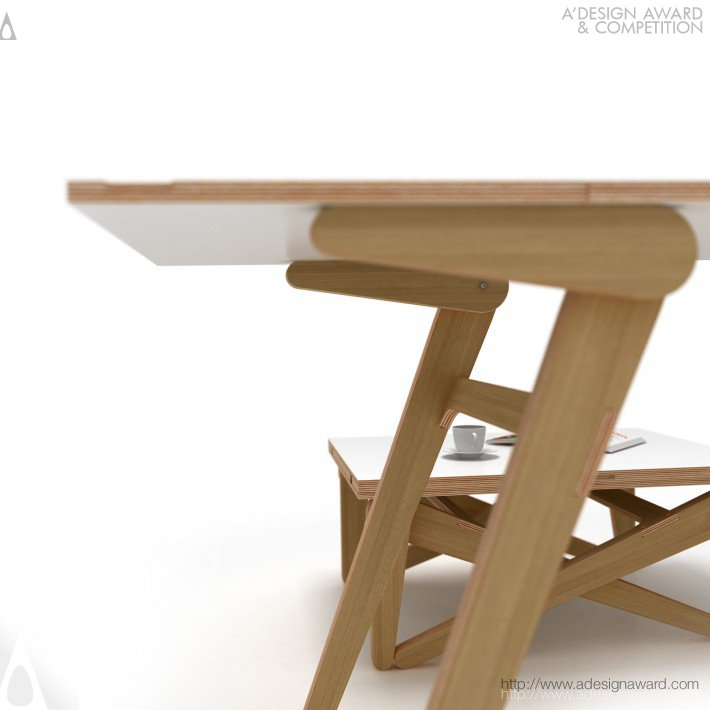 Alexander Sekirash Transforming Coffee Table