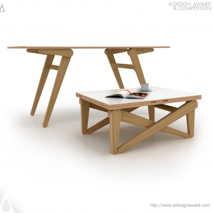 Kena Transforming Coffee Table by Alexander Sekirash