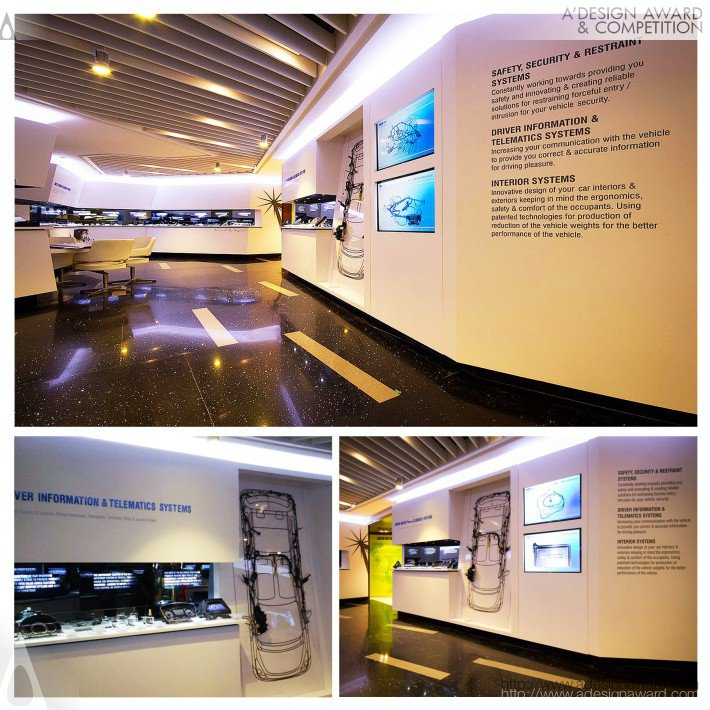 Spark Minda Product Museum (Product Display and Information Center Design)
