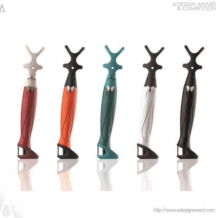 Toothbat-Wow (Dental Floss Holder Design)