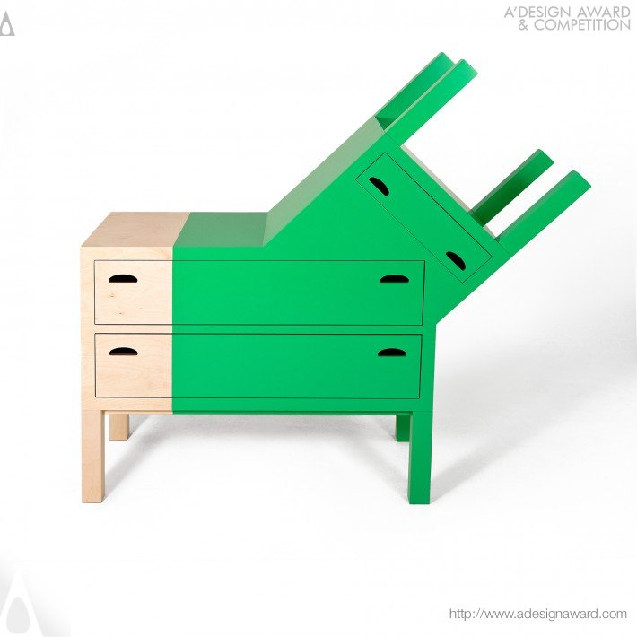 The Doubleface (Chest of Drawers Design)