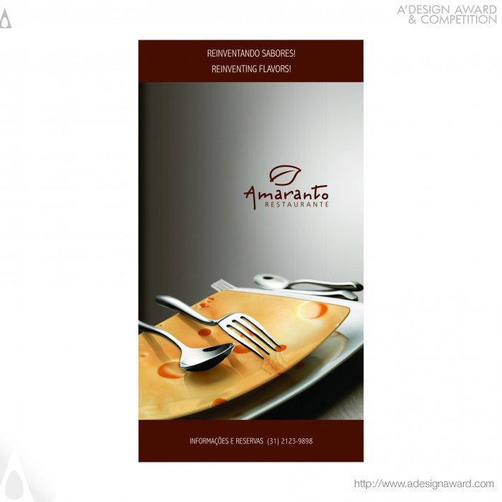 Amaranto Restaurant (Institutional Campaign Design)