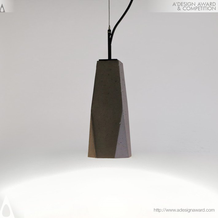 Trapeze Lamp by Damir Aitov