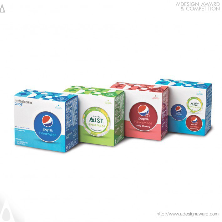 Pepsi Homemade (Carbination Product Design)
