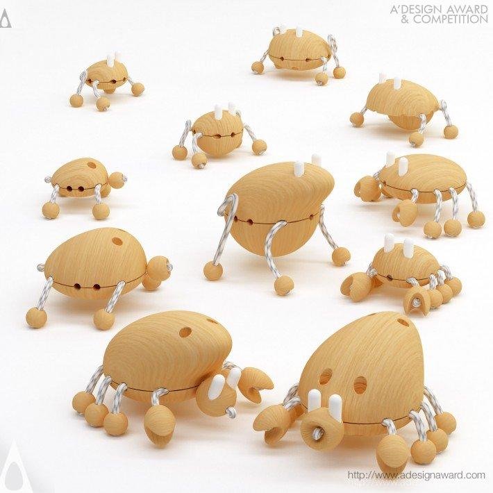 Creative Wooden Creatures Wooden Toy Design