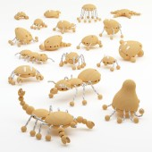 Creative Wooden Creatures