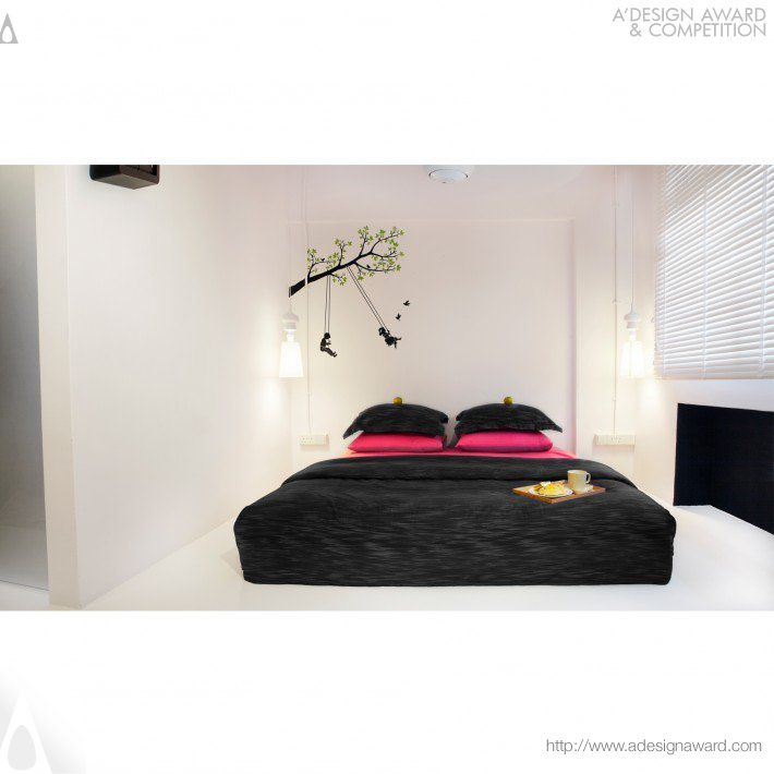 Boutique Hotel Home (Residential House Design)