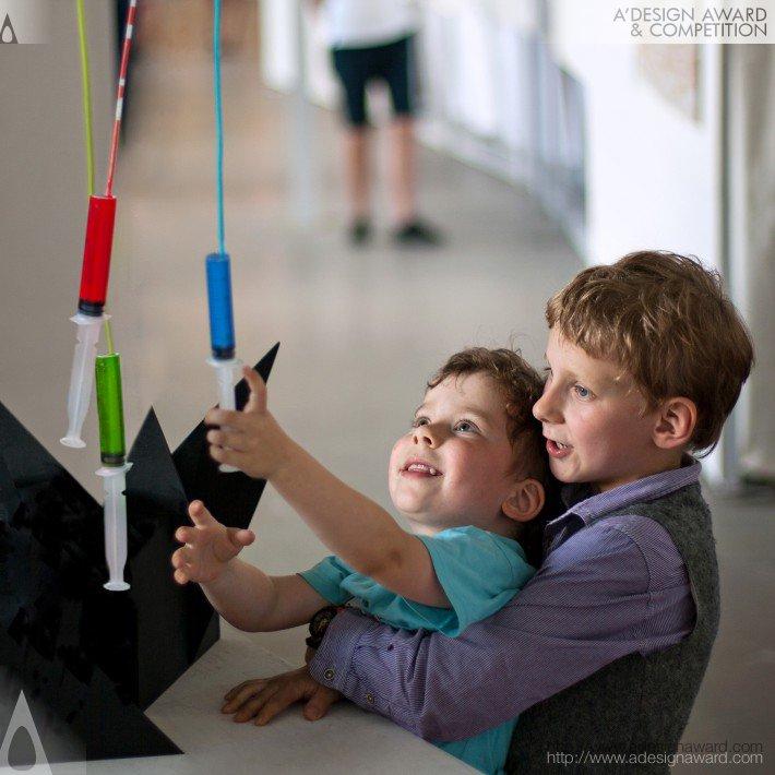 Colour Injector (Interactive Multicoloured Lamp Design)
