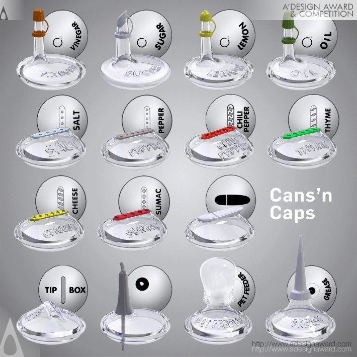 Cans'n Caps (Promotional Lids Design)