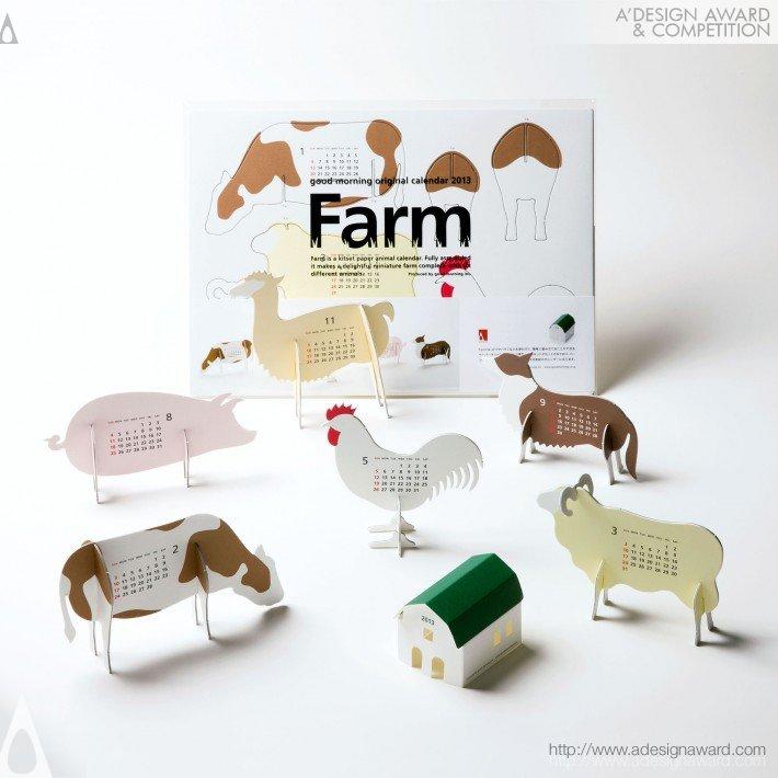 "Calendar 2013 ""farm"" (Calendar Design)"