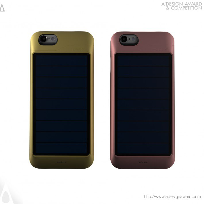 Sunthetic (Solar Case Charger For Iphone Design)