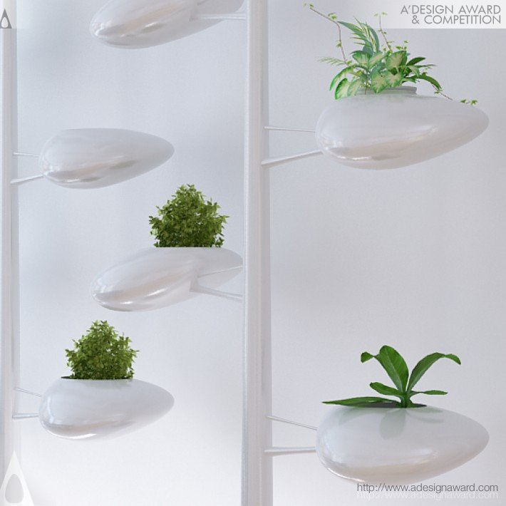 Self-Sustaining Vertical Garden by Danielle Trofe