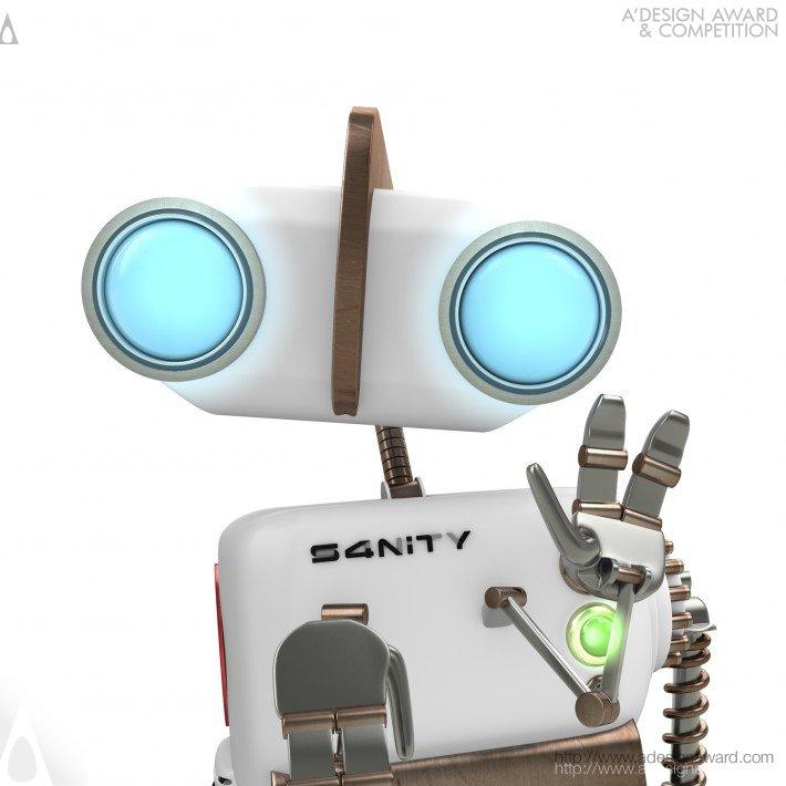 S4nity S4 Ident (Brand Identity Design)
