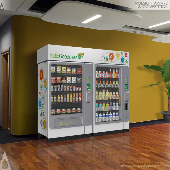 Hello Goodness (Vending MacHine Design)