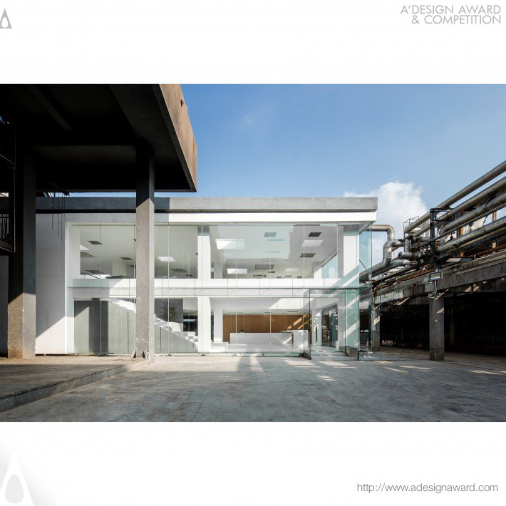 Lan Chuang Space Mixed Use Architecture by BEING Architects