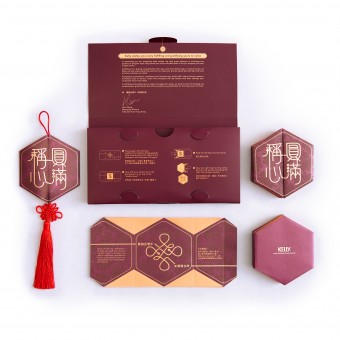 the hexagonal wishful knot red packet chinese new year red packet gift set by llab design ltd - Gifts For Chinese New Year
