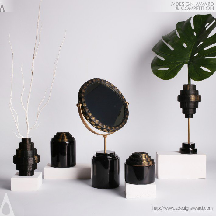 Round Home Decorative Objects by supattra kreaksakul