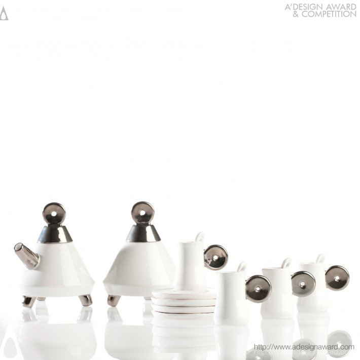 Sofia Tea Set (Tea Set Design)