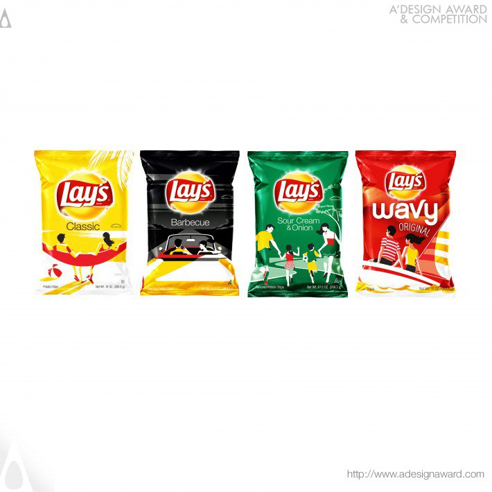 Lay's Summer Days Ltd Edition Packaging (Food Packaging Design)