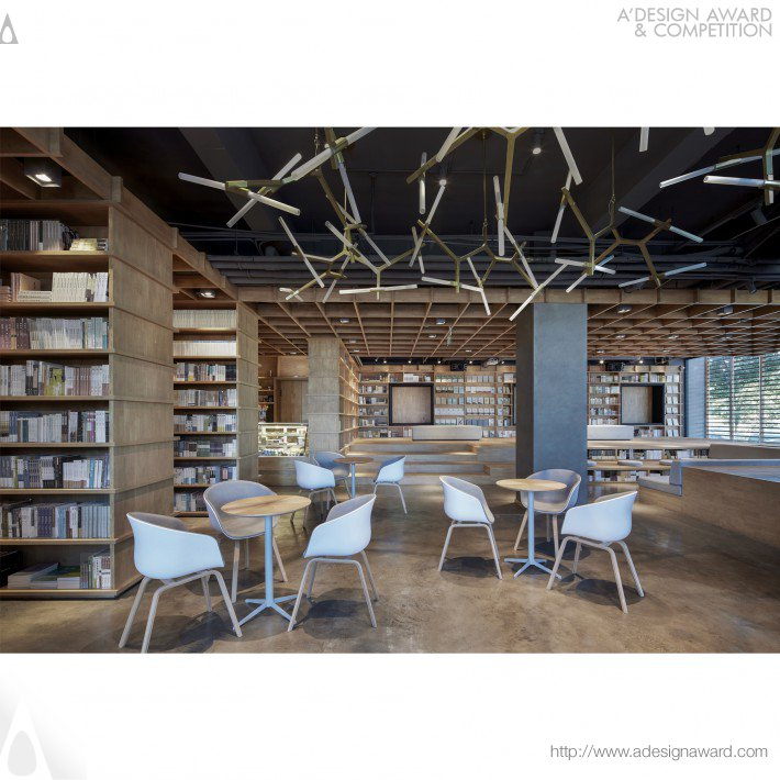 Baoding Xinhua Bookstore (Interior Design Store Design)