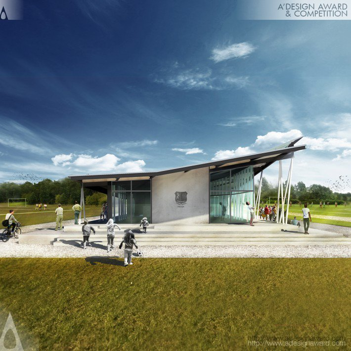 Copeland Associates Architects - Tku Football Clubhouse