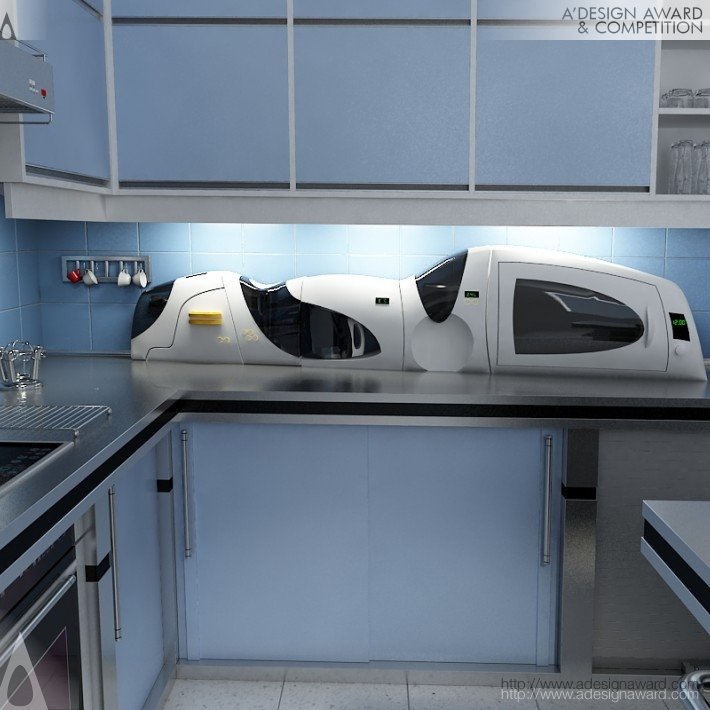 Kitchen Train (Kitchen Accesories Design)