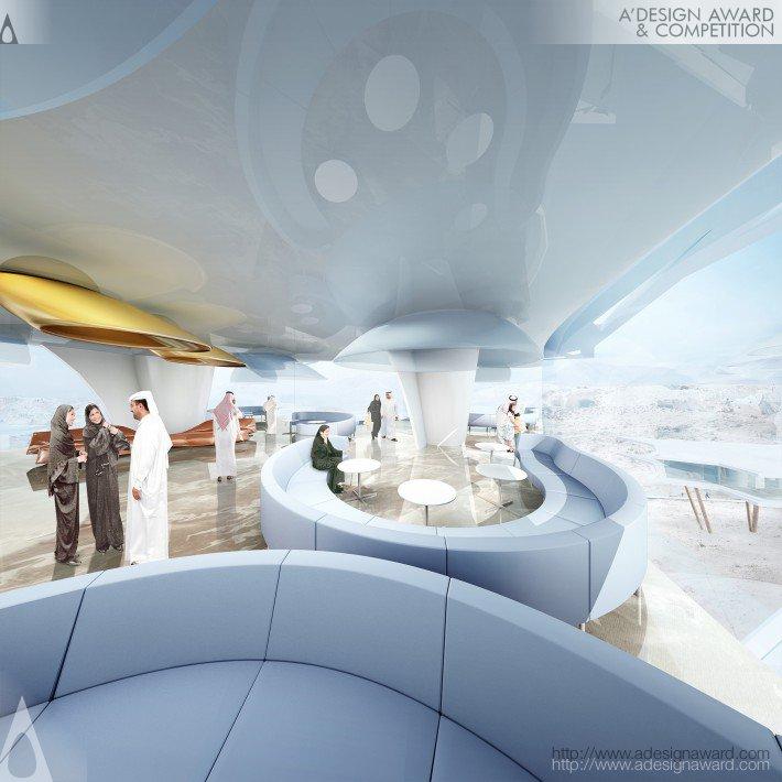 D.butterfly Resort (Desert Resort Development Design)