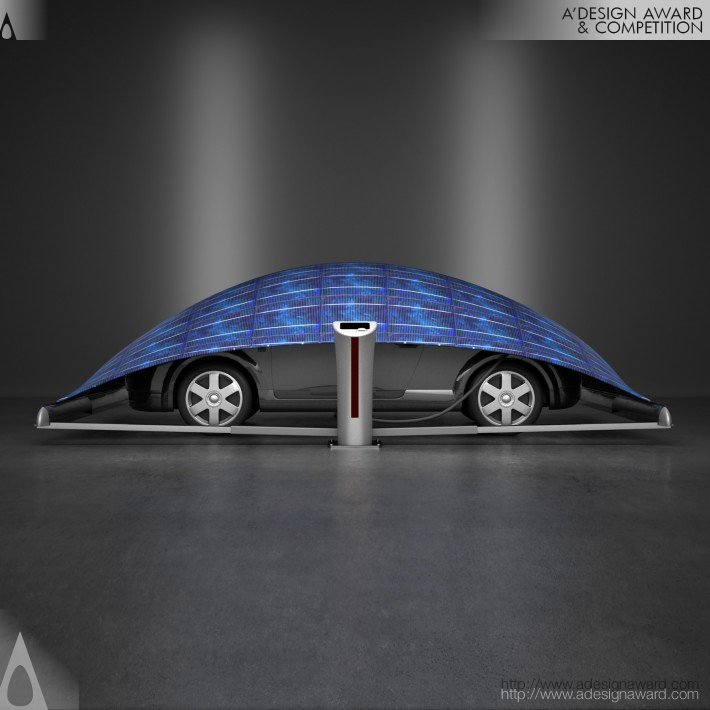 V-Tent (Car Charging and Protection Unit Design)