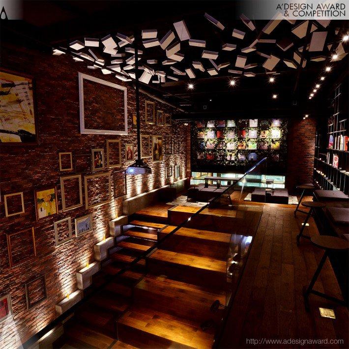 Both Boutique & Music (Vinyl Record Bar & Cafe Design)
