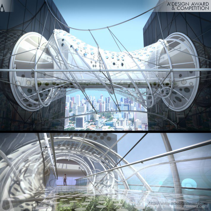 Dssh Bridge (Pedestrian Bridge Design)