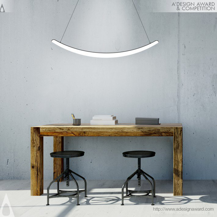 Bent (Led Interior Luminaire Design)