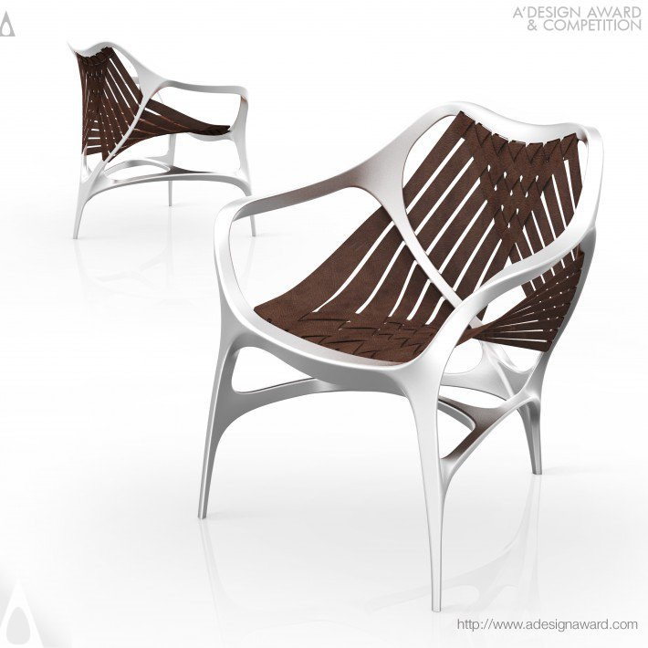 Manta Chair Bionic Design, Comfortable Use by Wei Jingye