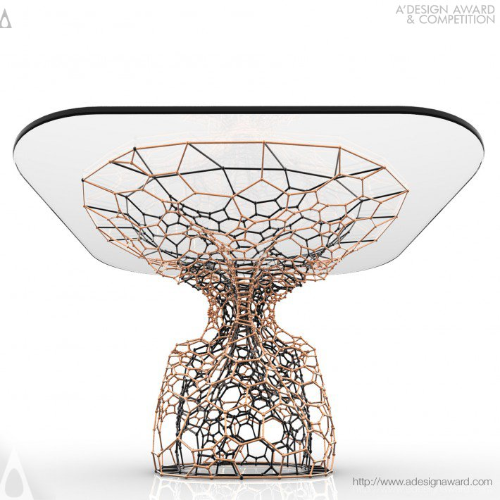 Cellular Table (Coffee Table Design)