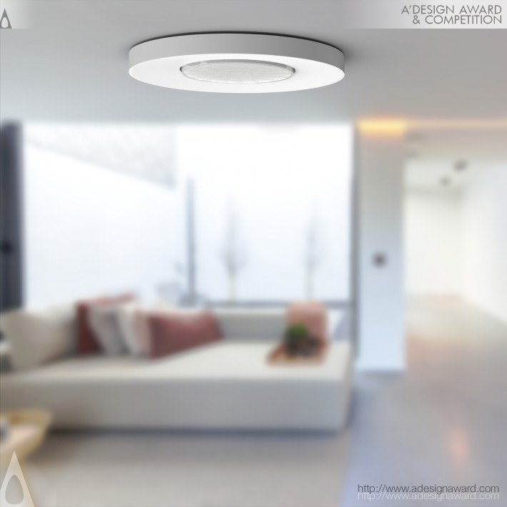 Flush Dali sensor Ceiling mount motion & presence detector by Niko design team
