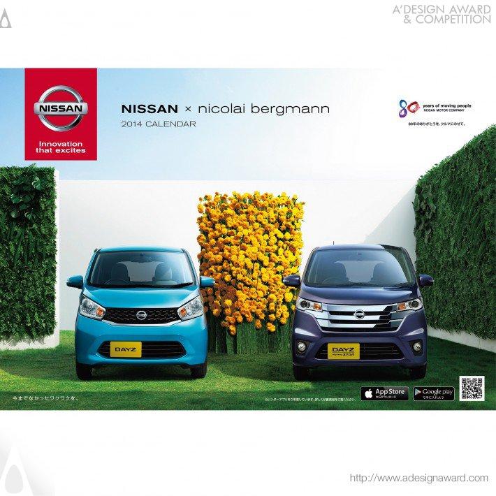 Nissan Calendar 2014 (Calendar Design)