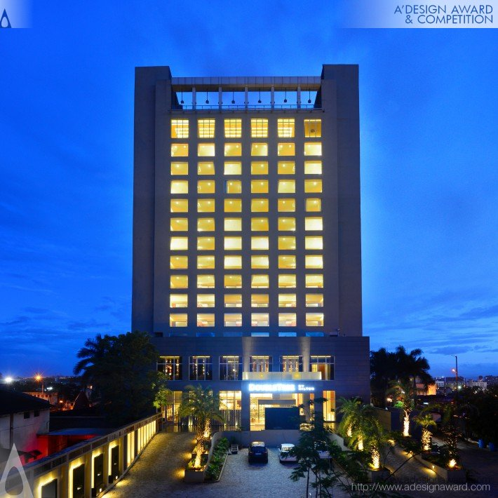 Double Tree by Hilton, Chinchwad, India (Business Hotel Design)