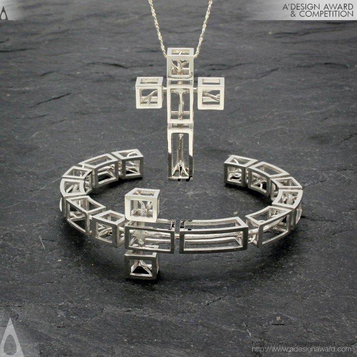 Tree in Cross (Jewelry Design)