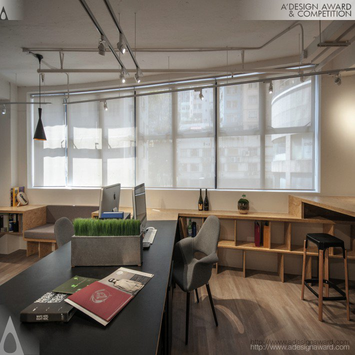 A 39 design award and competition cheil hong kong office for Buro interior design