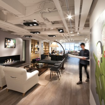 Cheil hong kong office office interior design for Interior design agency hong kong