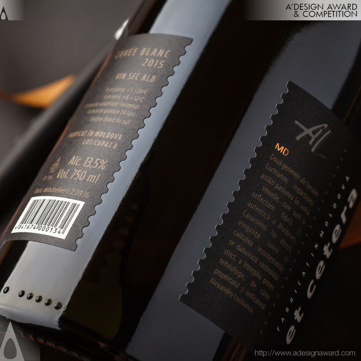 Et Cetera Premium (Wine Label Design)