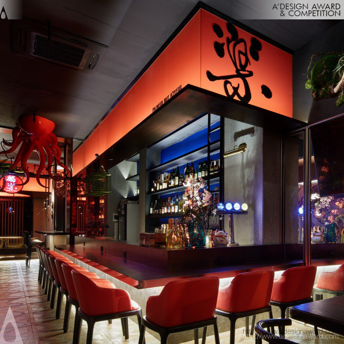 Dule Japanese Style Izakaya (Japan Resides Wine House Design)