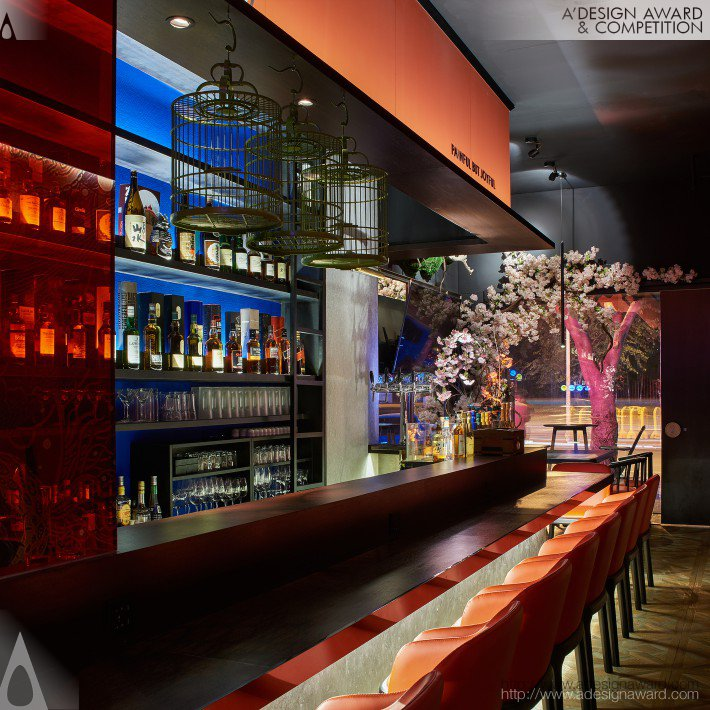Dule Japanese Style Izakaya Japan Resides Wine House by GAO XIONG