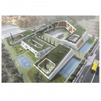 Compass School In Crete Bioclimatic European School Complex