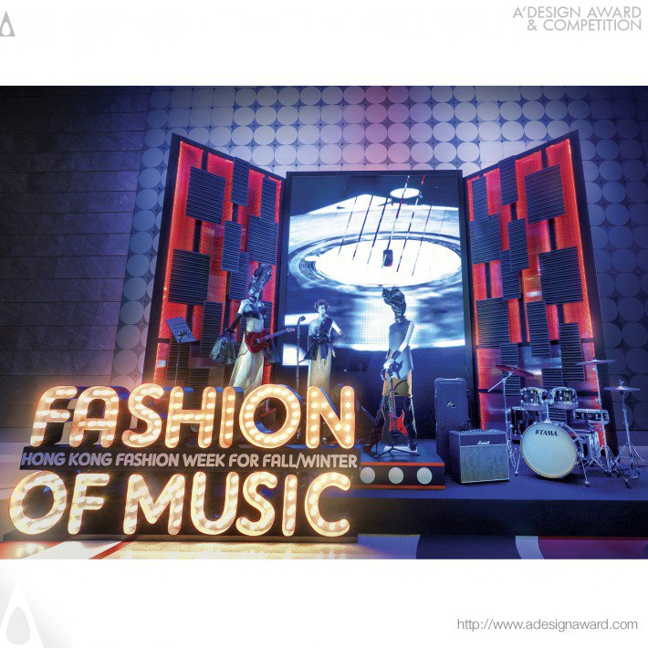Fashion of Music (Installation Space Design)