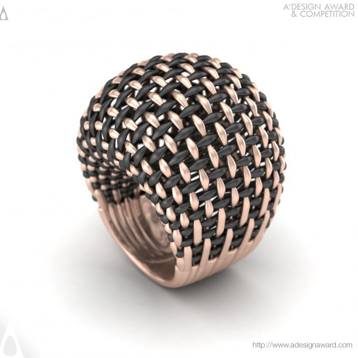 Interwoven (Gold Ring Design)