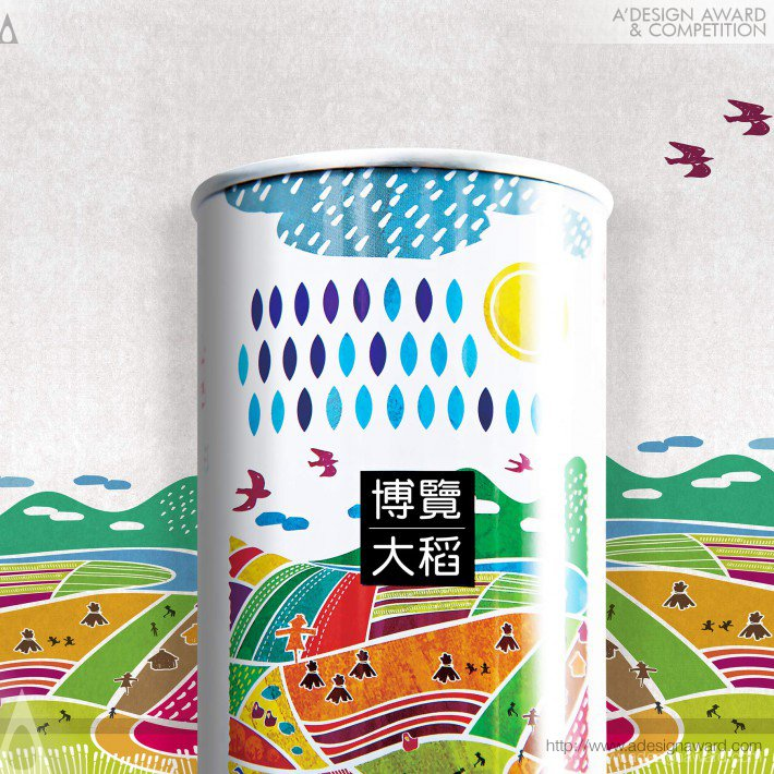 Rice Packaging by U VISUAL COMMUNICATION