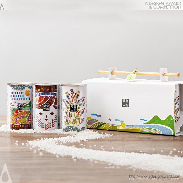 Brown's Rice Packaging (Rice Packaging Design)